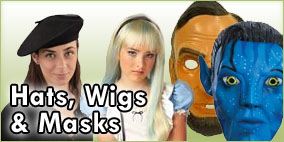 Hats, Wigs and Masks