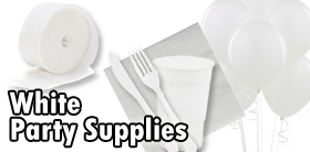 White Party Supplies