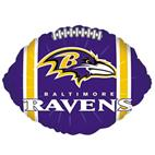 Baltimore Ravens Foil Balloon