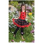 Ruffled Lady Bug Child/Tween Costume